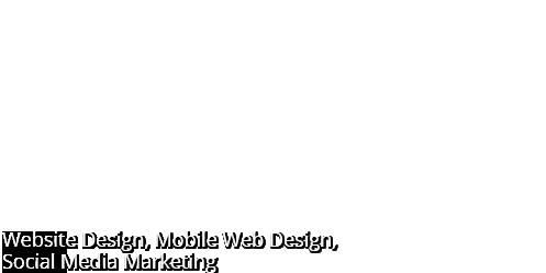 Mobile website design and social media marketing